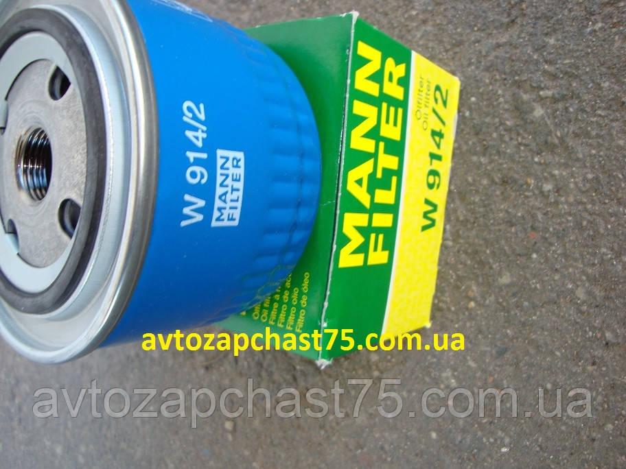 Фильтр масляный Ваз 2108-2109, 21099, 2113, 2114, 2115 (низкий 69 мм) (пр-во MANN, Германия)