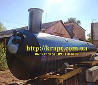 Резервуар для нефтепродуктов ГСМ  15 м.куб.