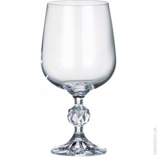 Набор бокалов для вина 455мл Bohemia Claudia 40149-455