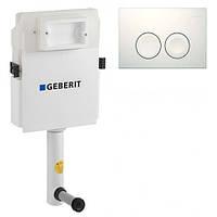 Инсталяция для унитаза Geberit UP182 Delta21 109.160.00.1+115.125.11.1