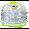 Сушилка для продуктов 350 Вт SATURN ST-FP0112зелено-прозрачн