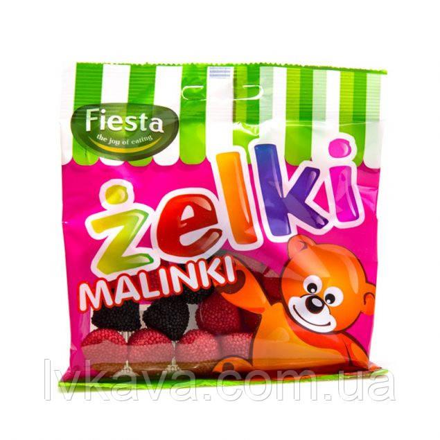 Жевательные конфеты Zelki Malinki , 80 гр