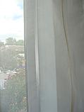 Комплект панельних шторок нануралка молочна, фото 3