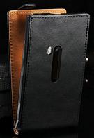 Чехол флип для  Nokia Lumia 920 черный