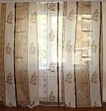Комплект панельних шторок льон, фото 2
