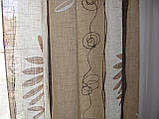 Комплект панельних шторок льон, фото 4