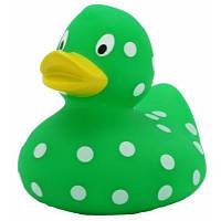 Зеленая утка в горошек LiLaLu