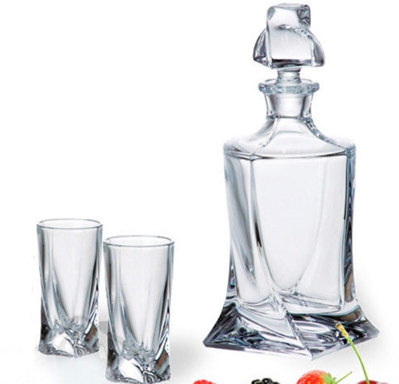 Набор водка/ликер 7пр Bohemia Quadro 99999--50-99A44-457