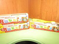 Детская зубная паста Rabbit, 45 г+зубная щетка
