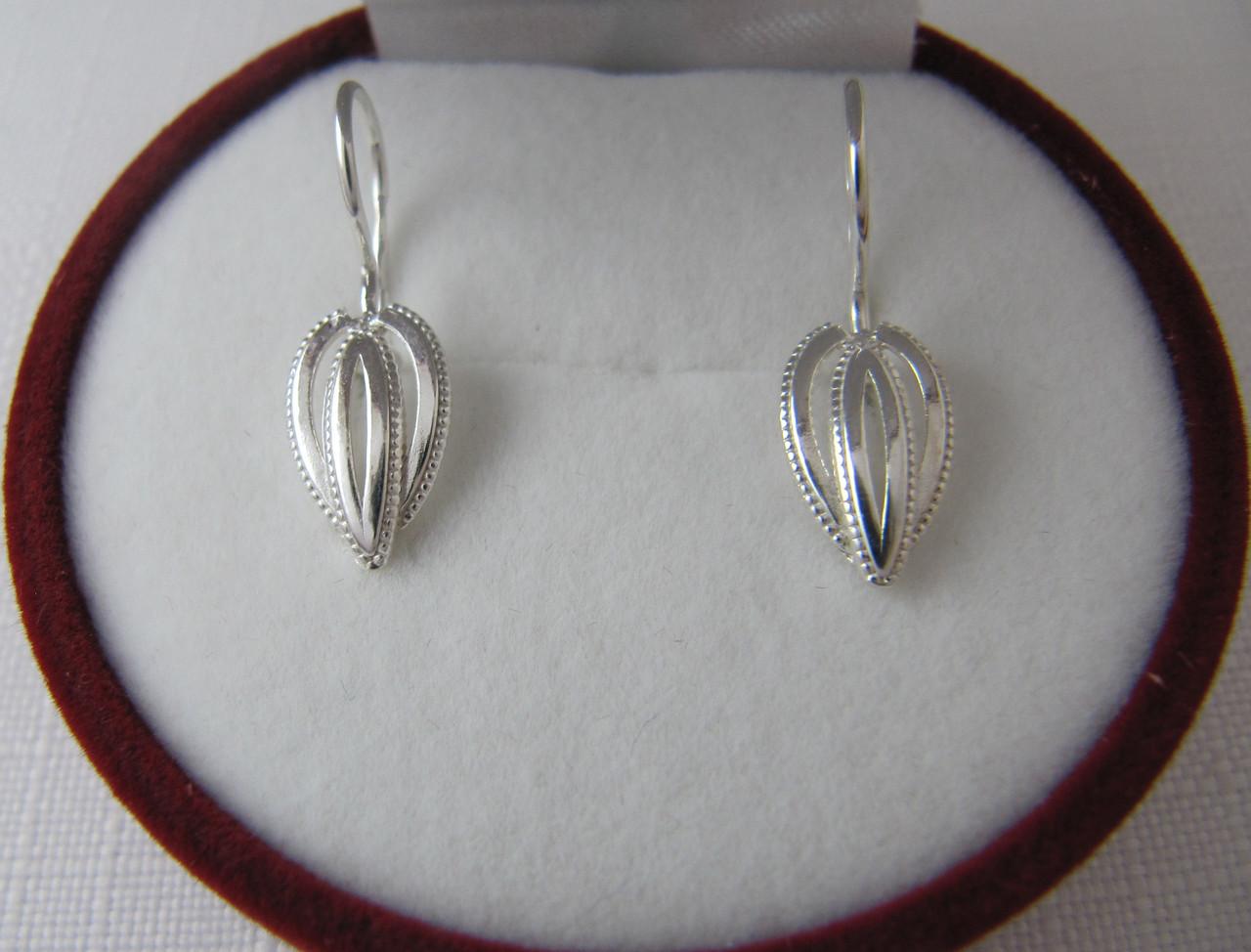 Детские серьги серебряные 925*