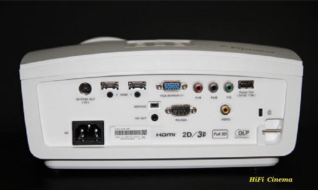 Optoma HD50 DLP FullHD 3D Projector HiFi видео проектор Home Cinema