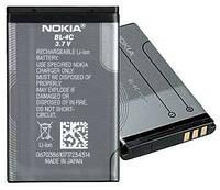 Аккумуляторная батарея на Nokia BL-4C (1202 1203 1661 2220s 2650 2652 2690 3500c 5100 5130 6100 6101 6133 6103)
