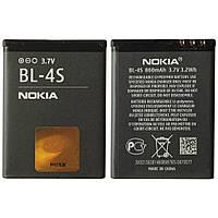 Аккумуляторная батарея на Nokia BL-4S (2680s 3600s 3710f 7020 7100 7610sn X3-02)