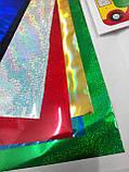 Аппликация цветной фольгой Машина, фото 6