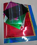 Аппликация цветной фольгой Зайчик, фото 5