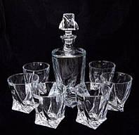 Набор для виски 7пр Quadro Bohemia 99999-99A44-480-43249