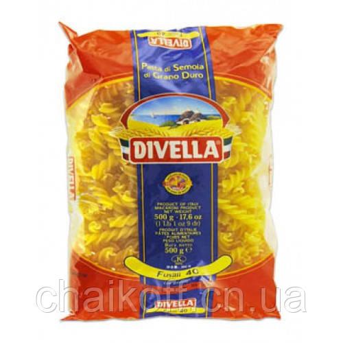 Макароны Divella Fusilli №40 500г (шт.) Италия