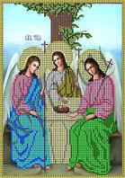 Схема для вышивки бисером Святая Троица