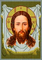 Схема для вышивки бисером Образ Господень Спас Нерукотворный КМИ 4014
