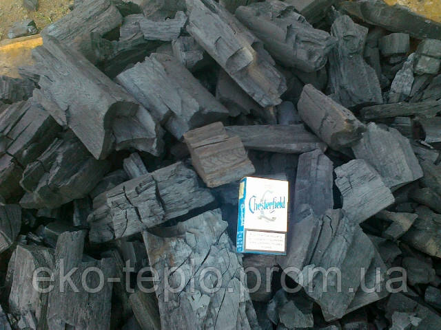 Древесный уголь для камина