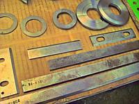 Ножи с механическим креплением. Фуговальный нож. Ножи для рейсмусных станков