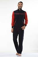 Трикотажный мужской спортивный костюм пр-во Турция FM14701 Dark Blue
