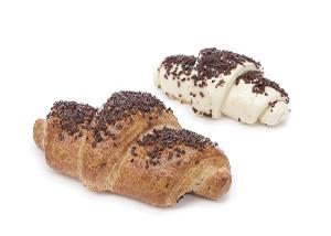 Французский круассан с шоколадной начинкой
