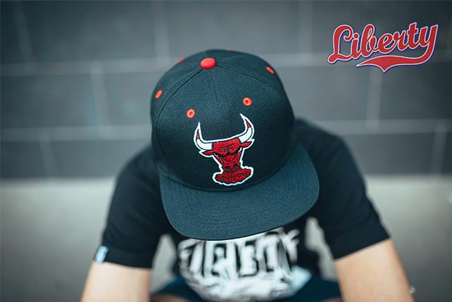 Снепбек Bull, кепка, бейсболка,  черная, фото 2