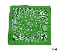 Бандана класическая лесная зеленая