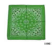 Бандана классическая лесная зелень, фото 1