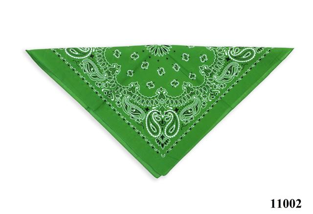Бандана класическая лесная зеленая 3