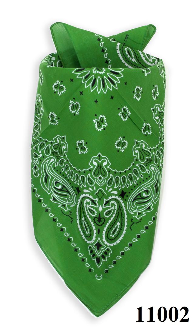 Бандана класическая лесная зеленая 4