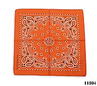 Бандана класическая оранжевая