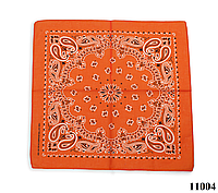 Бандана классическая оранжевая