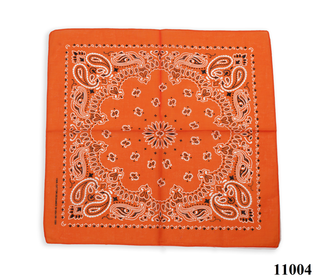 Бандана класическая оранжевая 1