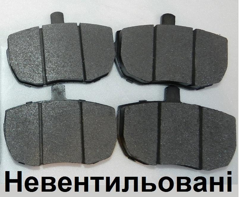 Тормозные колодки (передние) для DAF 400 LDV Convoy (89-06), на не вентилируемые тормозные диски - Автозапчасти Світ LDV & Transit в Луцке