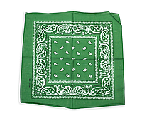 Бандана класическая зеленая