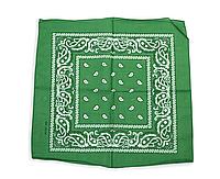 ⭐Бандана класична зелена