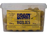 Бойлы Brain Scopex Soluble 1000 gr, mix 24 mm