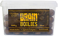 Бойлы Brain Squid Octopus Soluble 1000 gr, mix 24 mm
