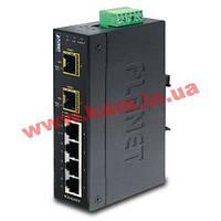 Промышленный коммутатор 8 Gb +2SFP портов IP30 , (-40 - +75) IGS-620TF (IGS-620TF)