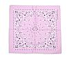 Бандана классическая бледно-розовая
