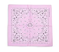 Бандана классическая бледно-розовая, фото 1