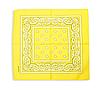 Бандана классическая желтая