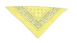 ⭐Бандана классическая бледно-желтая, фото 2