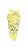 ⭐Бандана классическая бледно-желтая, фото 3