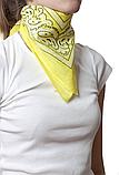 ⭐Бандана классическая бледно-желтая, фото 4