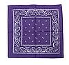 Бандана классическая фиолетовая