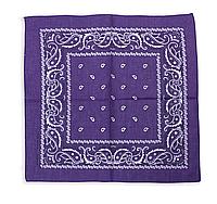 Бандана классическая фиолетовая, фото 1