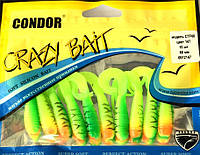 Твистер Crazy bait CTF60 (длина 60мм), цвет 147